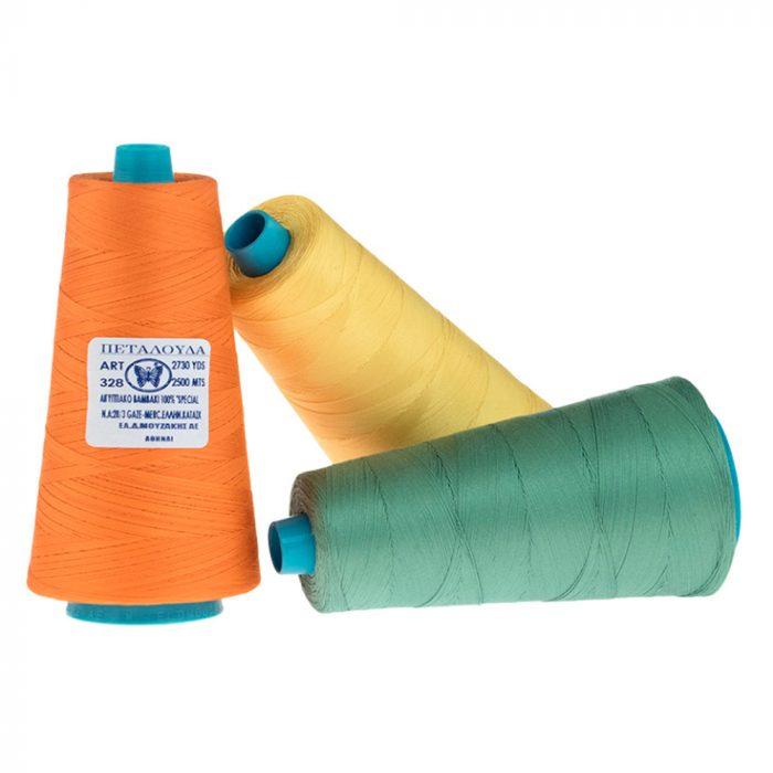 Triple cotton thread