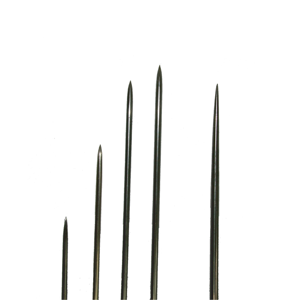 Straight needles