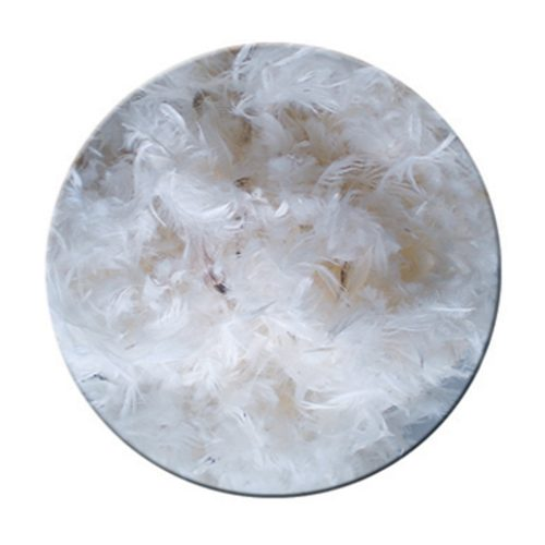 Mixed filling feather - polyester