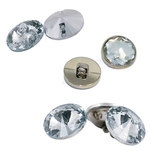 Rhinestone crystal buttons