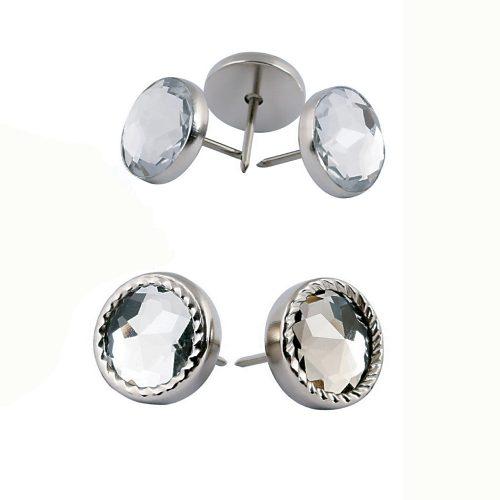 Rhinestone nail buttons