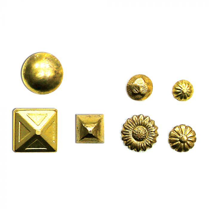 Gold Decorative Nails