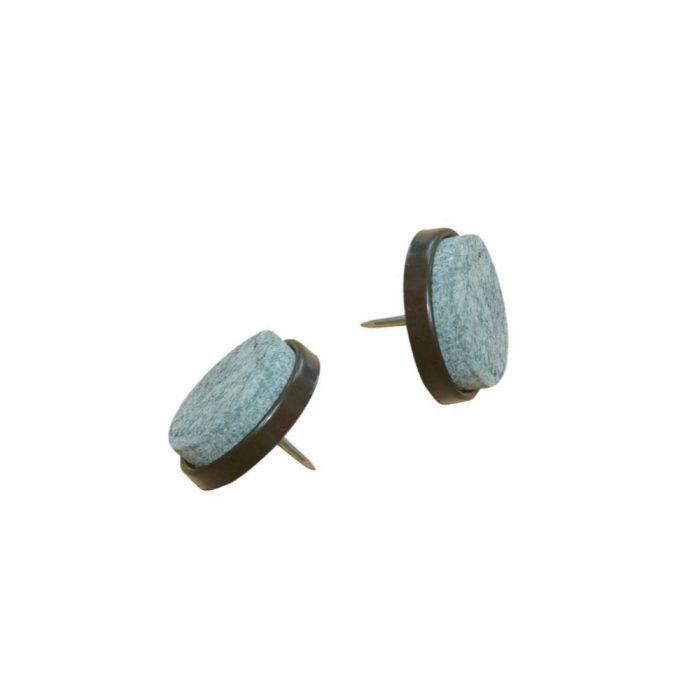 Furniture nail felt pads