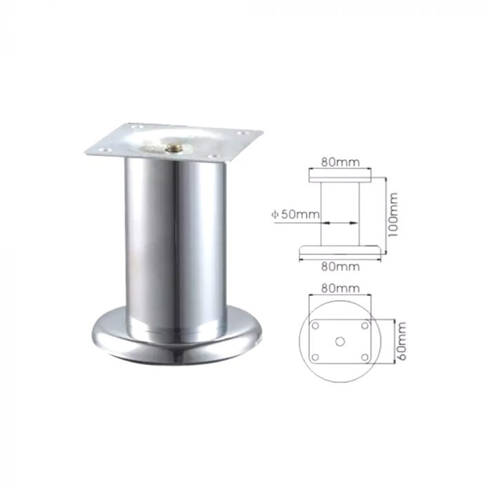 METALLIC FURNITURE LEG OZ-5042T
